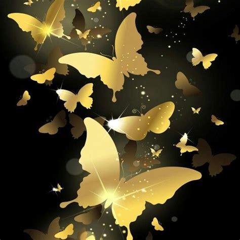 imagenes mariposas doradas mariposas doradas en fondo negro mis tres colores