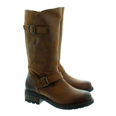 oak and hyde crest leather calf boots in in