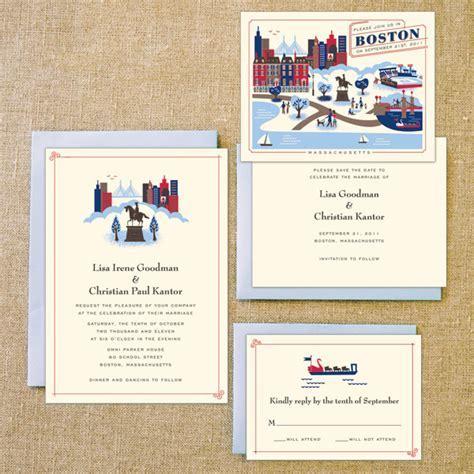 Destination Wedding Invites : Boston, Miami, and The