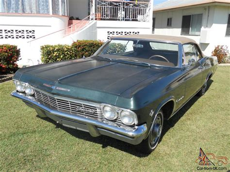 65 chev impala convertible