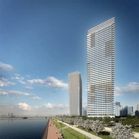 Rise Harumi gallery of harumi residential tower richard meier partners architects 9 richard meier