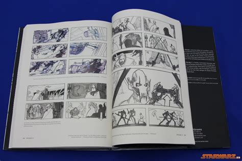 review libro star wars storyboards the prequel trilogy starwarz es