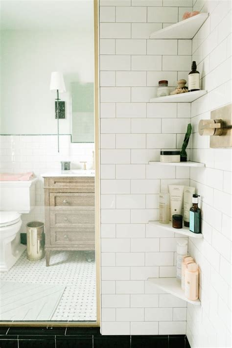 upstairs bathroom corner shower pinteres bathroom corner shelves bathroom pinterest hgtv