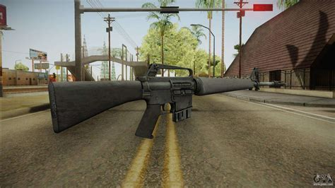 assault rifle  gta san andreas