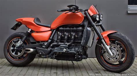 Triumph Motorrad Tuningteile by Umgebautes Motorrad Triumph Rocket Iii Msg Moto Shop