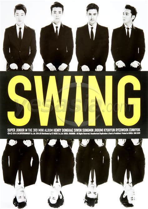 swing lyrics super junior yesasia super junior m mini album vol 3 swing korea