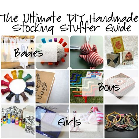 Handmade Stuffers - handmade gifts for archives hackshaw lil