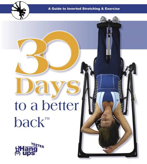 30 day teeter inversion table program