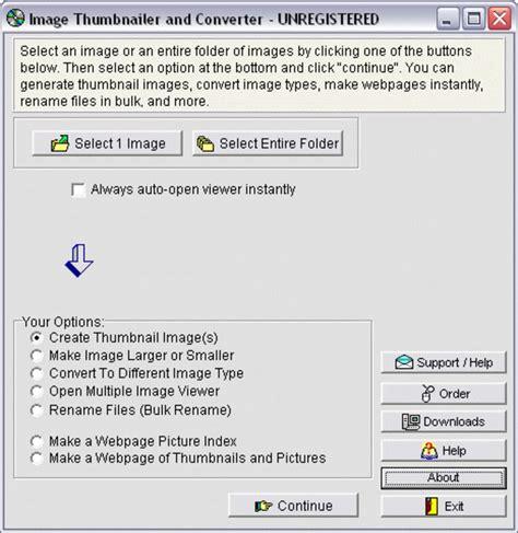 Image To Thumbnail Converter image thumbnailer and converter