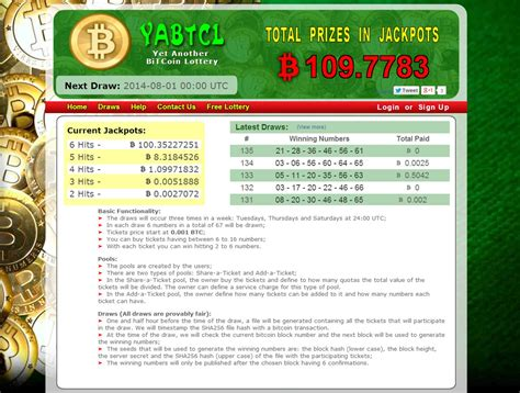 bitcoin lottery yet another bitcoin lottery bitcoin garden
