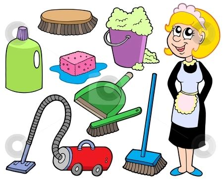 Cleaning House Nanny 20clipart Clipart Panda Free Clipart Images