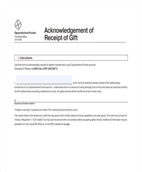 5 gift receipt templates free sle exle format download free premium - Can Gift Cards Be Returned With A Receipt