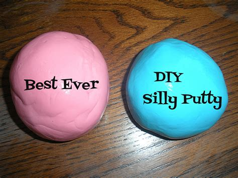 diy silly putty without borax paper pins even better diy silly putty