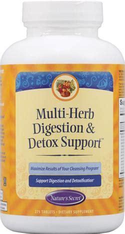 Nature S Secret Multi Herb Digest Detox 275 Ct by Nature S Secret Multi Herb Digest Detox 275 Tablet
