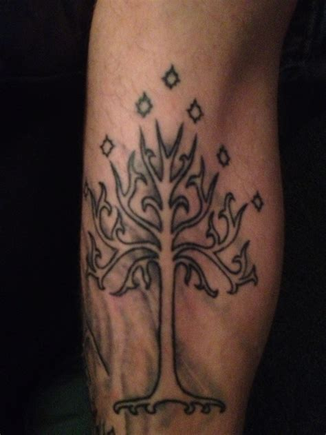 tree of gondor tattoo tree of gondor tattoos trees tree