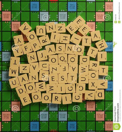 scrabble no random scrabble letters royalty free stock image image