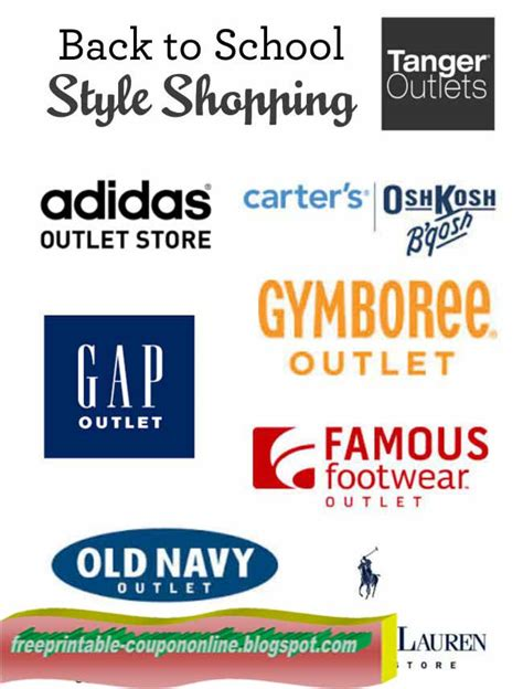 Printable Outlet Coupons