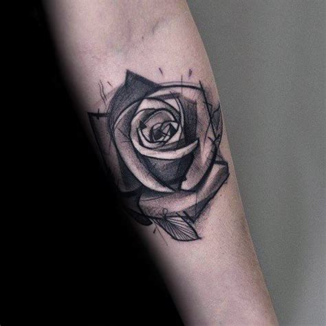 80 black rose tattoo designs f 252 r m 228 nner dark ink ideen