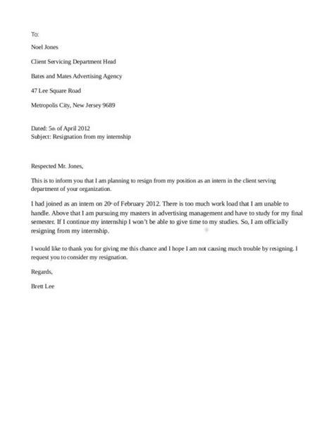 resignation letter template hk ten easy rules