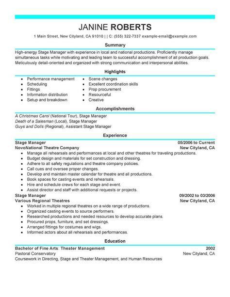 Resume Templates For Supervisor Position by Supervisor Resume Sle Supervisor Resumes Livecareer