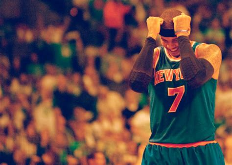 Go Check Out Carmelo Melo Anthonys Myspace Page by Carmelo Anthony S Moment Of