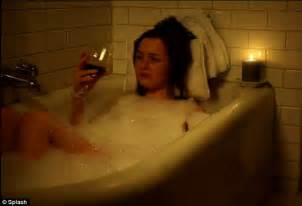 bathtub scene royal wedding kate middleton cries into wine glass after being dumped by prince