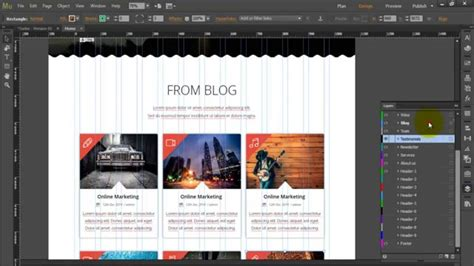 Adobe Muse Template Quot Turbo Business Quot How To Edit Quot Blog Quot Section Youtube Adobe Muse Templates