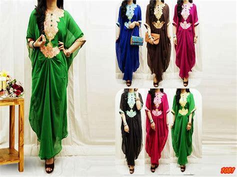 Nirina Kaftan kode baju 1081 harga 155 000 idr model pakaian mischa kaftan maxy jenis bahan chiffon