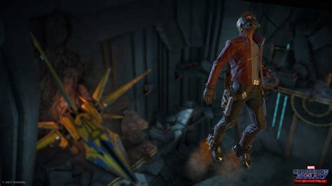 marvel s guardians of the galaxy has you play as star lord no hollywood cast onboard new