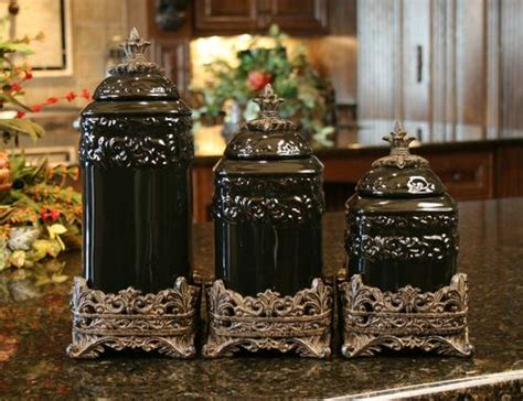 drake kitchen canisters onyx medium ceramic canister set