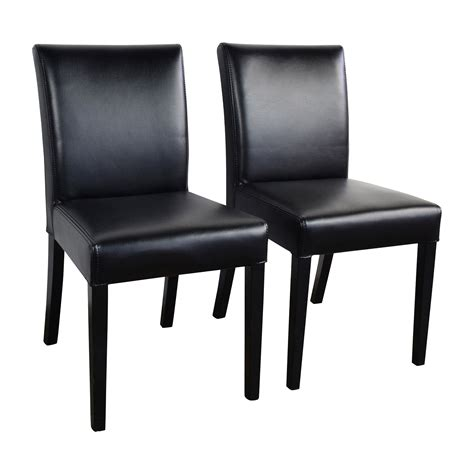 crate and barrel armchair 47 off crate and barrel crate barrel lowe onyx black leather chairs chairs