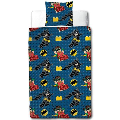 Batman Quilt Cover by New Lego Batman Single Duvet Quilt Cover Set Boys