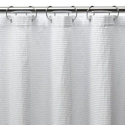 waffle shower curtain extra long 1000 ideas about white shower on pinterest shower