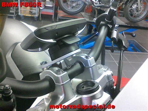 Navihalter F R Motorrad Bmw by Navigationshalter F 252 R Die Bmw F800r Tomtom Rider 400 410