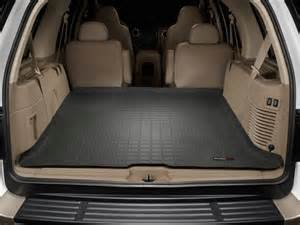 Cargo Liners For Ford Expedition 2013 Toyota Sequoia Rear Interior Cargo Space 02 2013