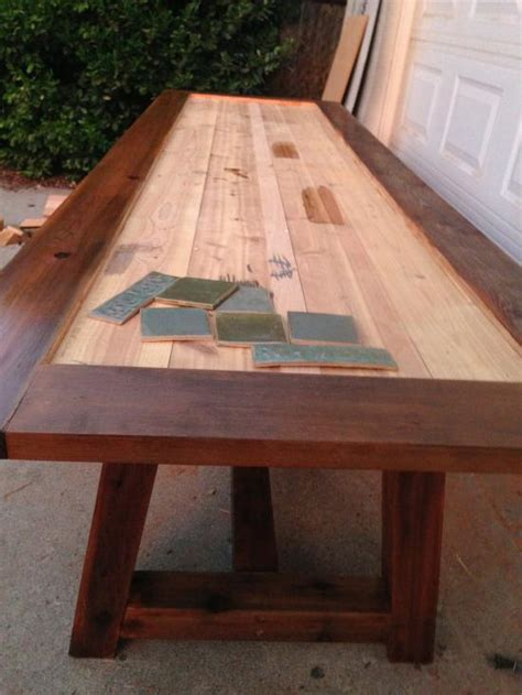 how to a tile table top reader showcase tile top provence dining table the