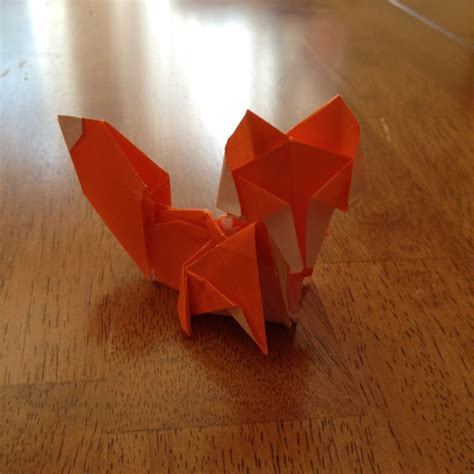 3d origami fox tutorial 1000 images about origami foxes on pinterest dollar