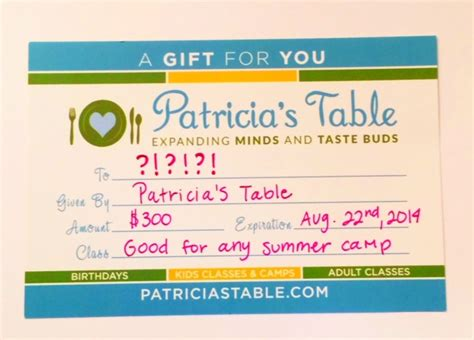 Grand Opening Giveaway - grand opening giveaway patricia s table