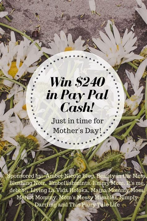 Mother S Day Giveaway - mother s day giveaway win 240 in cash