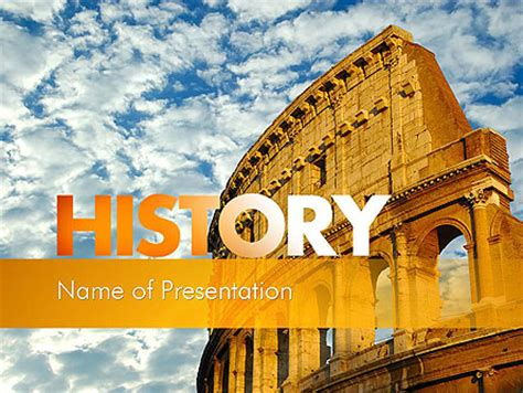 powerpoint themes rome the colosseum presentation template for powerpoint and