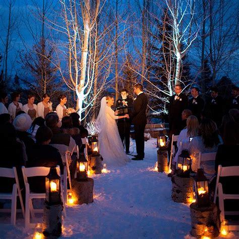 17 Best ideas about Outdoor Winter Wedding on Pinterest