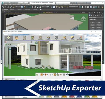 sketchup layout purge simlab 3d plugins sketchup exporter for 3ds max