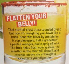 Flat Tummy Detox Smoothie by 1000 Images About Flat Belly Smoothies On