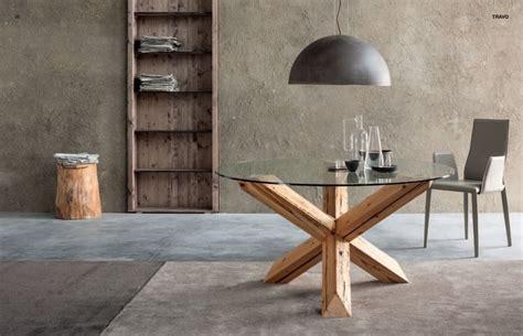 tavoli da pranzo antichi tavolo da pranzo mod travo di sedit in vetro e abete