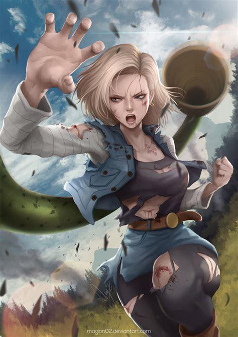 deviantart wallpaper anime android dragon ball android 18 by magion02 on deviantart