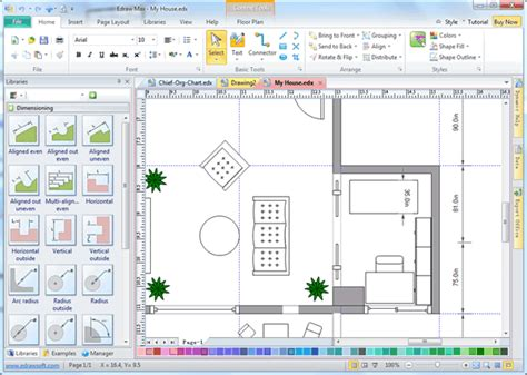 Blueprint Drawing Program Change The Drawing Scale In Floor Plan