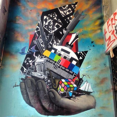 street art  athenes quand la communication politique