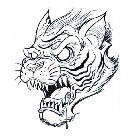 tiger tattoo outline designs designs tattoos photos design gallery