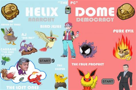 Helix Fossil Meme - the complete guide to twitch plays pokemon done