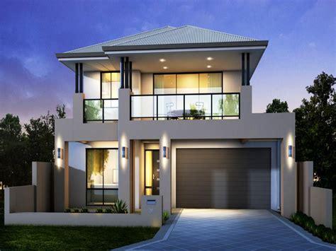 contemporary house plans  attached garage schmidt